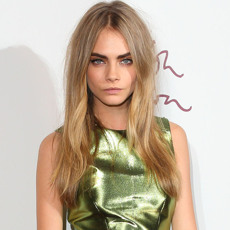 Cara Delevingne in Burberry at British Fashion Awards 2012