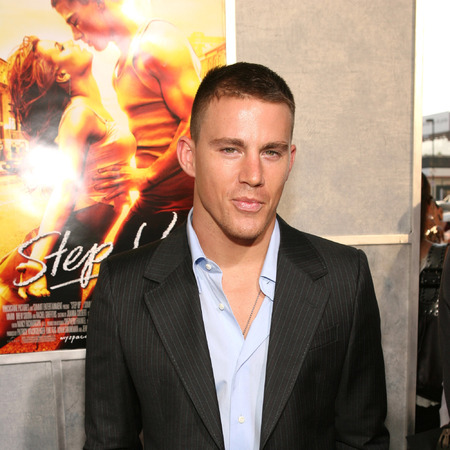 Channing Tatum at the Step Up premiere