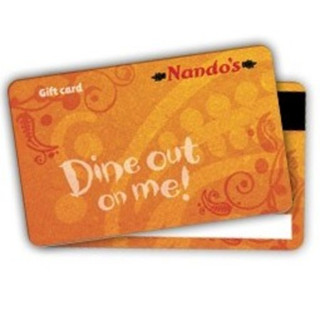 Treat him to Nando's