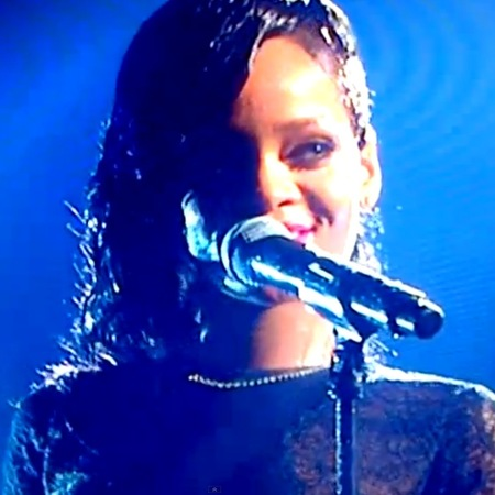 Rihanna on X Factor