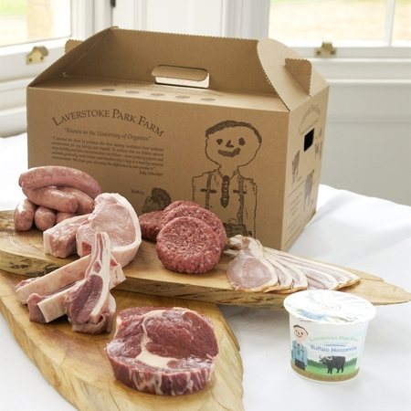 Big box of meat