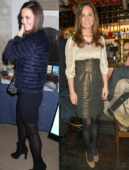 Pippa Middleton rocks day to night winter style