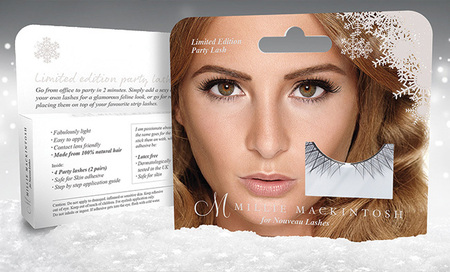 Millie Mackintosh launches limited edition party lashes