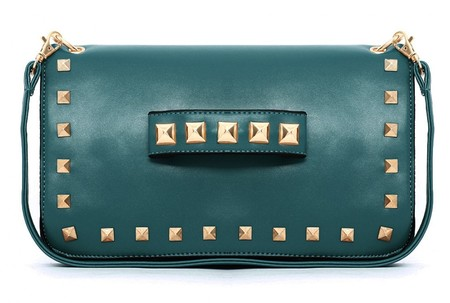 BAG LOVE: Missguided studded clutch