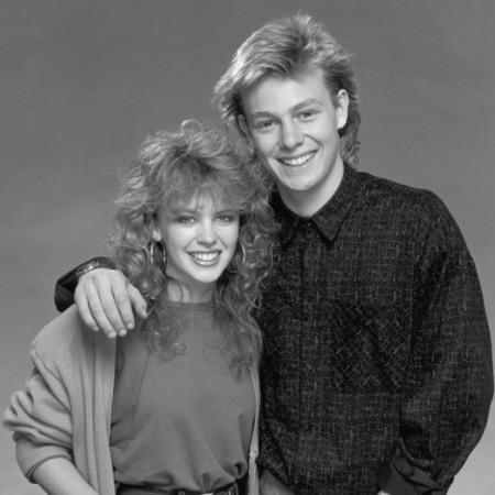 Kylie Monogue and Jason Donovan