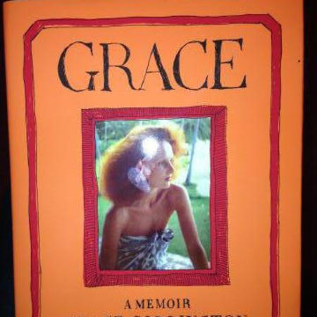 Victoria Beckham reading Grace Coddington book