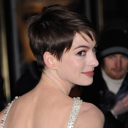 Anne Hathaway's pixie crop advice