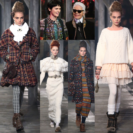 CHANEL Metiers d'Art pre-fall 2013 show round-up
