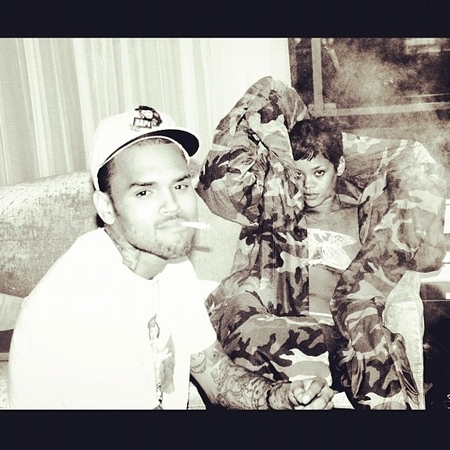 Chris Brown and Rihanna 420 session