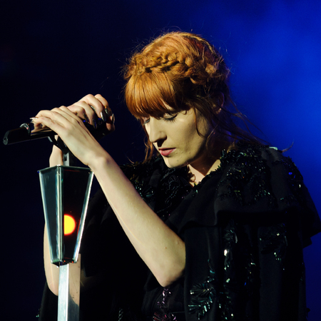 HAIR ENVY: Florence Welch's braided updo