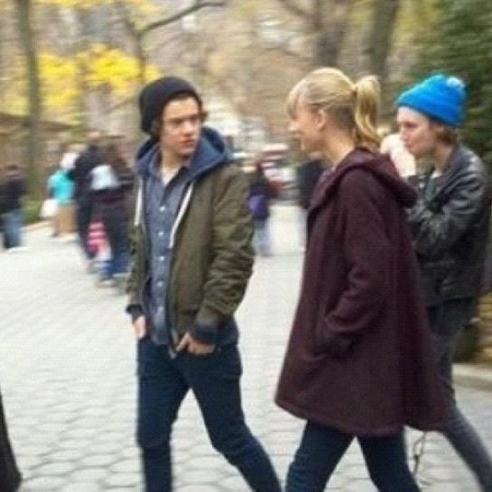 Taylor Swift and Harry Styles in New York