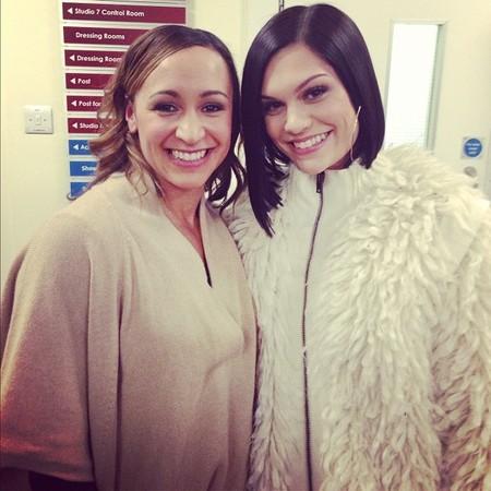 Jessie J thinks she looks like Jessica Ennis