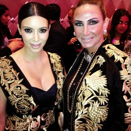 Kim Kardashian wears Elegant by Laila Al-Hanbali to VIP gala dinner in Kuwait