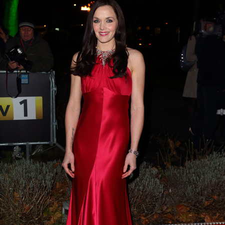 Victoria Pendleton in red