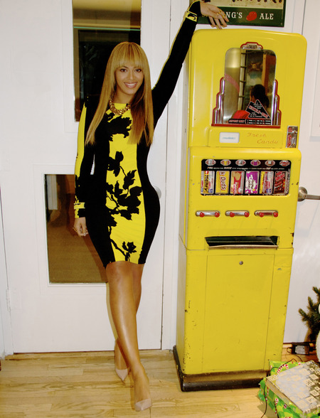 The awkward time Beyonce dressed like a vending machine