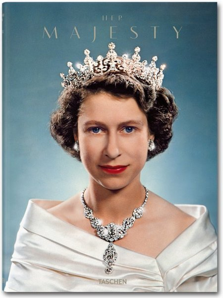 A unique portrait of the Queen