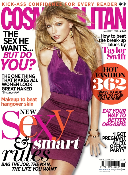Taylor Swift on Cosmo mag