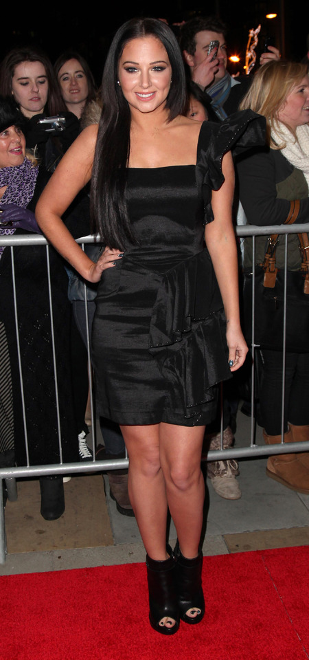 Tulisa plays it safe in LBD at Military Awards