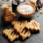 Puff pastry Christmas tree cookies recipe