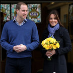 Did Kate Middleton have a Delivery Day makeover?