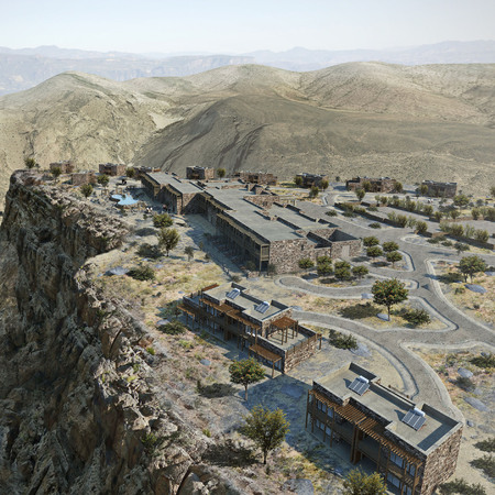 Jabal Akhdar mountain region, Oman