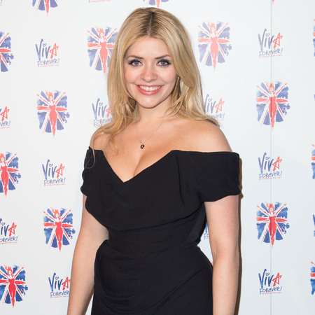 Holly Willoughby rocks off-the-shoulder LBD at Viva Forever after party