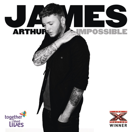 James Arthur Impossible CD cover