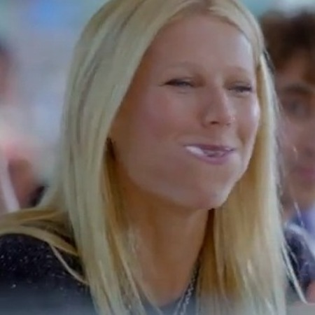 Gwyneth Paltrow marshmallow eating competition