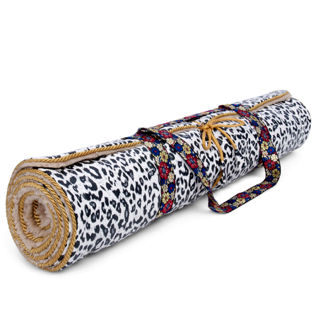 Luxurious yoga mat