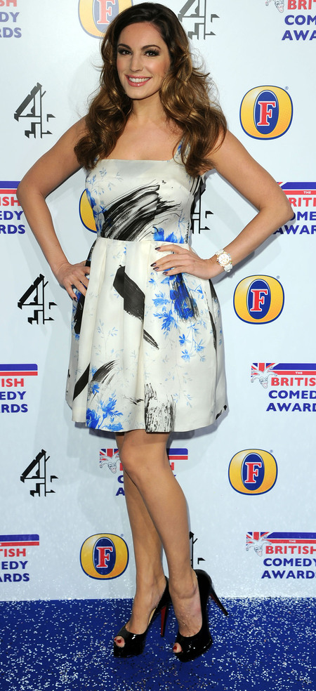 Kelly Brook at 2012 British Comedy Awards