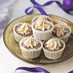 Stacey Solomon's Christmas Pudding Cupcakes