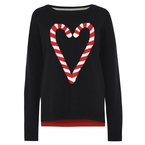 12 Days of Christmas Jumpers: New Look's candy canes
