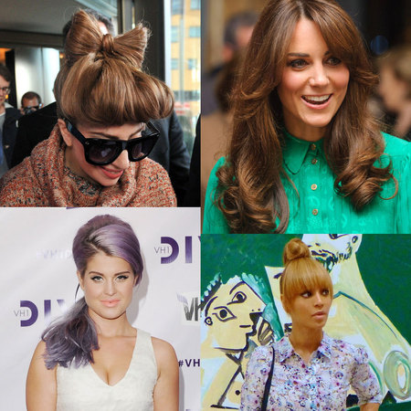 TOP 20: CELEBRITY HAIR HEROES OF 2012