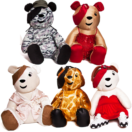 Girls Aloud design POP Pudsey Bears for Children In Need