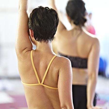 Hot Bikram Yoga - yoga workout - detox - sweating - diet and fitness - handbag.com