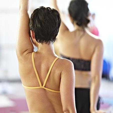 Hot Bikram Yoga - yoga workout - detox - sweating - diet and fitness - handbag.com