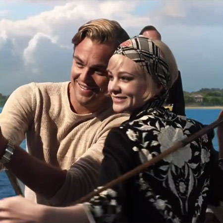 Leonardo Dicprio and Carey Mulligan in The Great Gatsby
