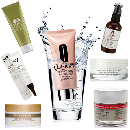 Overnight skin saviours