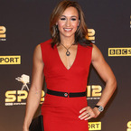 Jessica Ennis wows in red Victoria Beckham at SPOTY