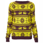 12 Days of Christmas Jumpers: Oh My Love colour clash