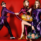 Romeo Beckham joins Cara Delevingne for Burberry SS13