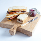 Hangover cure: Sausage sandwich & onion relish