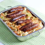Comfort food time! Toad in the hole