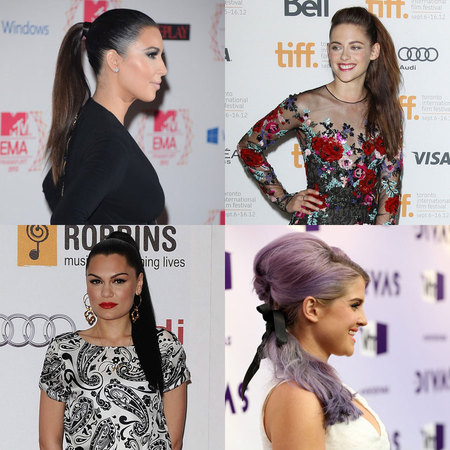 CELEBRITY TREND: Pretty ponytails