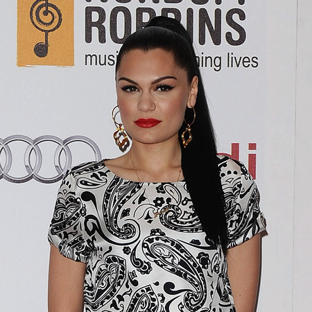 Jessie J's high ponytail