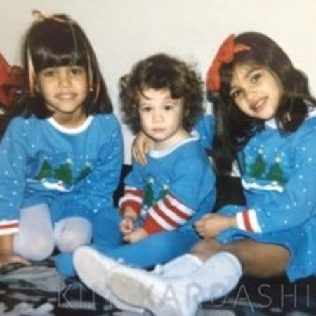 Kim, Kourtney and Khloe Kardashian 1985