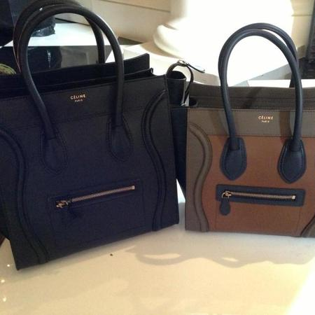 Kylie Jenner's Celine handbags for Christmas