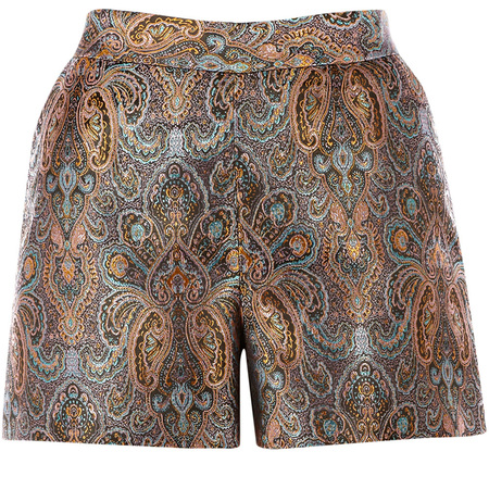 Warehouse paisley print shorts