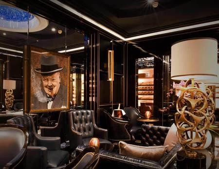 London hotel review - The Wellesley London - Art Deco hotel - Gatsby style - Luxury hotel - Art deco - Cigar terrace - Travel