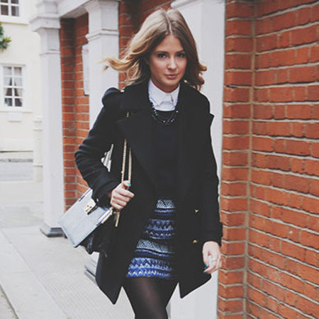 Millie Mackintosh pairs high-street picks with Dune bag